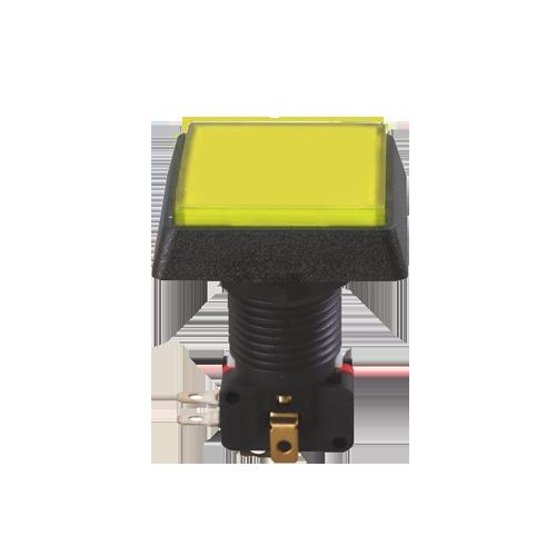 gaming button, full led illumination, rjs electronics ltd