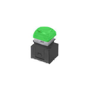 RJS-KA-12MM-ILLUMINATED-PUSH BUTTON SWITCH - GREEN - RJS ELECTRONICS LTD.