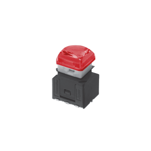 RJS-KA-12MM-ILLUMINATED-PUSH BUTTON - RED -SWITCH - RJS ELECTRONICS LTD.