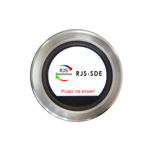 Metal housing, fully programmable SPI interfaced, navigation switch with rotary encoder and push button function. Momentary function, multi-purpose and multi-functional. RJS Electronics Ltd.