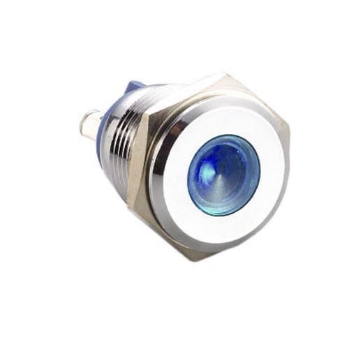 panel mount, 16mm metal LED indicator.