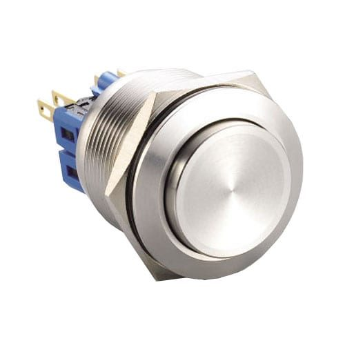 RJS(1-2)03-25(A)-H-(BS)-67J, 25mm push button metal switch