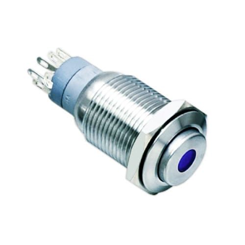 16mm push button metal switch
