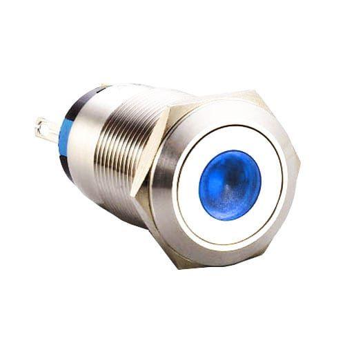 RJSX02-19L(A)-F-D~67J, 19mm push button metal switch