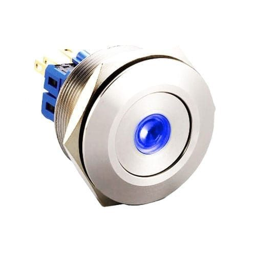 28mm push button metal switch