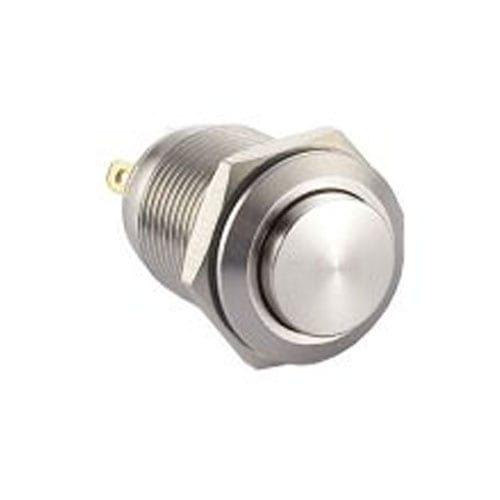 RJS1N1-12-H~67J, 12mm metal push button switch