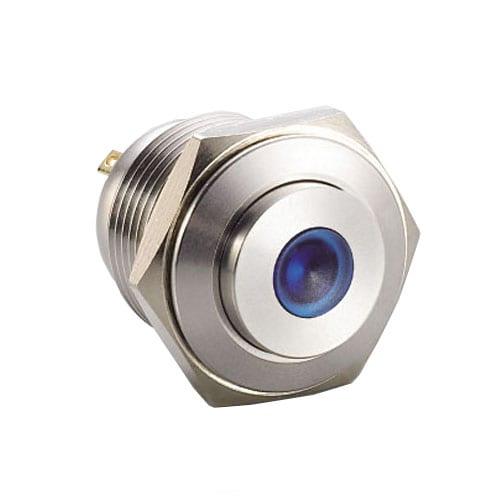 RJS1N1-16L-H-D~67J, 16mm push button metal switch.