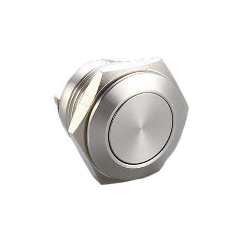 RJS1N1(S)-16-F~67J, 16mm push button metal switch
