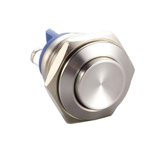 RJS1N1(S)-16-H~67J, 16mm push button metal switch.