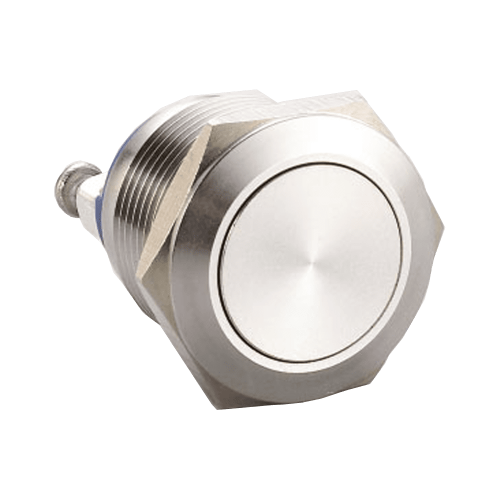 RJS1N1(S)-19-F~67J, 19mm push button metal switch