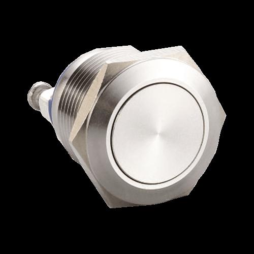 RJS1N1(S)-19-F~67J, 19mm push button metal switch