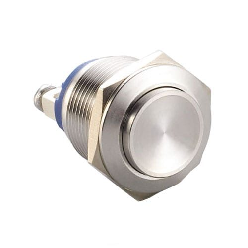 RJS1N1(S)-19-H~67J, 19mm push button metal switch.