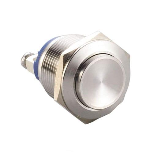 RJS1N1(S)-19-H~67J, 19mm push button metal switch.