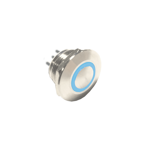 RJS1N1T 12MM push button metal led switch