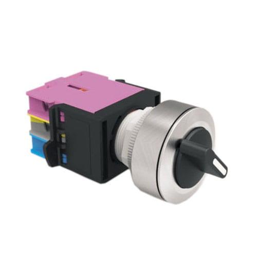 RJSAS30E SELECTOR BUTTON, round non-illuminated selector switch - RJS Electronics Ltd.