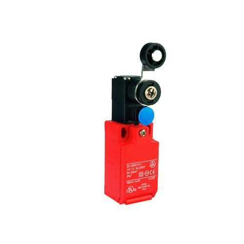 RJSDR Series, limit switches, industrial control switch, variety of actuators for a wide range of safety equipment. IP rated, plastic casing, RJS Electronics Ltd