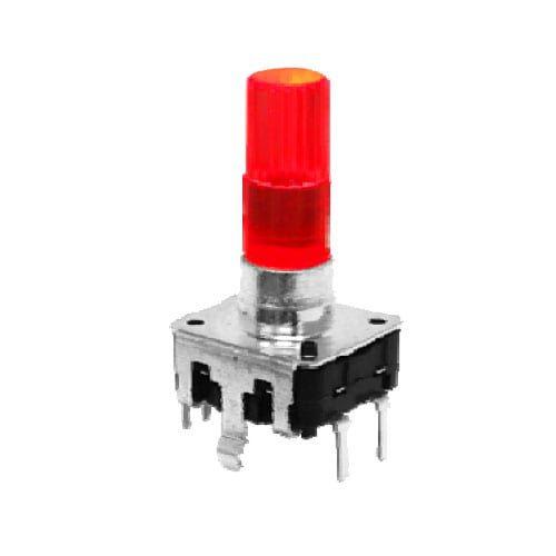 LED Illuminated encoder switch