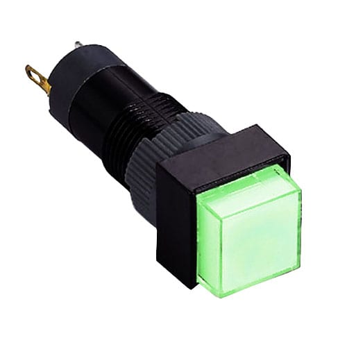 10mm Plastic led indicator switch rjs electronics