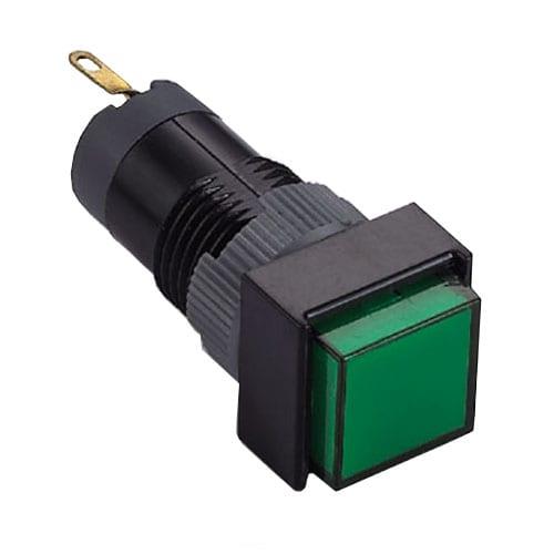 12mm Plastic led indicator switch rjs electronics