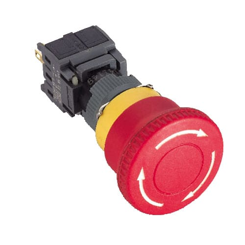 RJSPS16B Emergency Stop 2, panel mount, emergency stop 2, RJS Electronics Ltd.