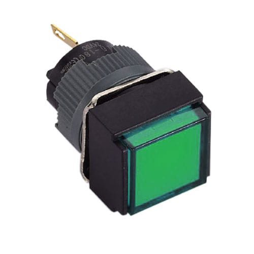 16mm plastic led indicator switch rjs electronics