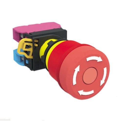 RJSPS22E Emergency Stop 3, panel mount, emergency stop switch 3, push button switch, RJS Electronics Ltd.