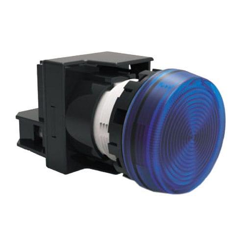 RJSPS22E, Lamp Head, Round, Flush, LED with Markings and Spherical. Lamp Head, LED indicator. IP65 rated, RJS Electronics Ltd