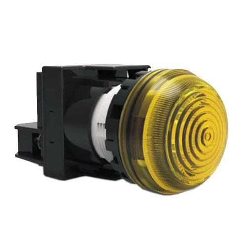 RJSPS22E – Plastic Lamp head Indicator with full single LED illumination. LED head lamp with a Solder Lug Terminals. IP65 rated, LED lam head indicator. RJS Electronics Ltd