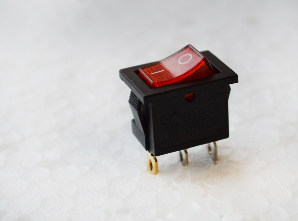 rocker switch, led illuminated, rjs electronics ltd