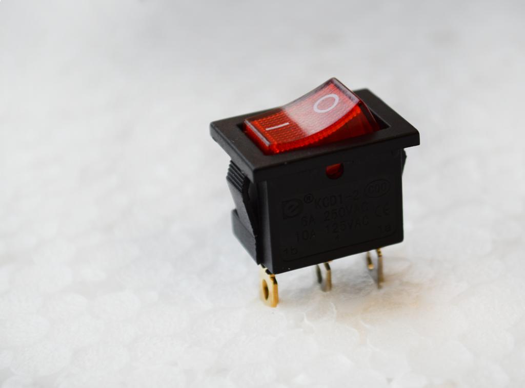 rocker switch, led illuminated, rjs electronics ltd