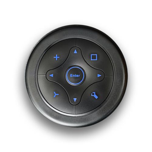 Panel Mount, Navigation Switch with LED illumination. Single colour LED illumination switch. RJS Electronics Ltd