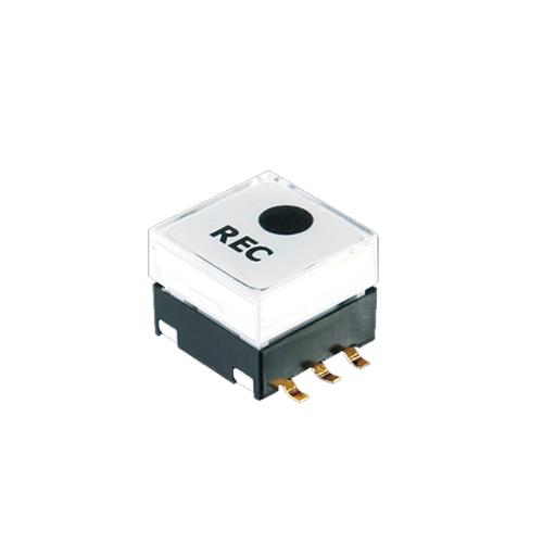 pcb push button switch, SPD series, LED illuminated button, tactile, rjs electronics ltd