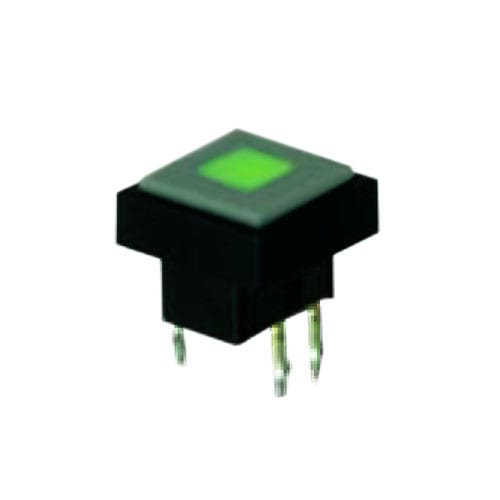 LED ILLUMINATED PUSH BUTTON TACT SWITCH, RJS ELECTRONICS
