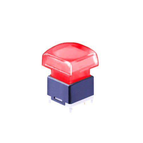 illuminated push button switch