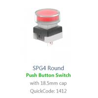 PCB, Panel Mount, SPG4 Round SWITCH with LED illumination, Single colour, BI-COLOUR, RGB LED ILLUMINATION, - RJS ELECTRONICS LTD