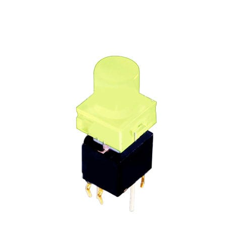 PCB LED ILLUMINATED TACTILE PUSH BUTTON SWITCH, RJS ELECTRONICS