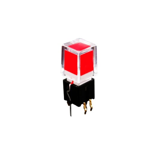 LED ILLUMINATED TACT SWITCH, RJS ELECTRONICS