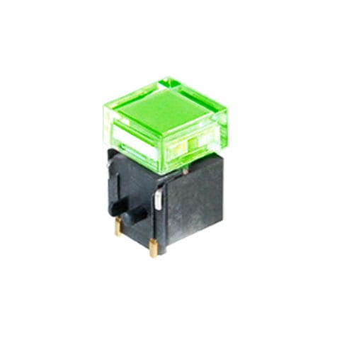led illuminated tactile push button switch with smd mount rjs electronics