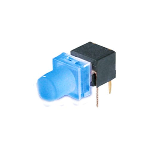 pcb push button switch with led illumination, smd mount, tactile feel, rjs electronics ltd