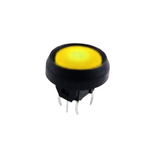 push button switch with led illumination, tactile feel, momentary function, rjs electronics