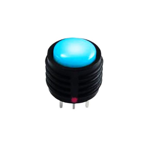 pcb push button switch, full led illumination, tactile feel, momentary function, rjs electronics