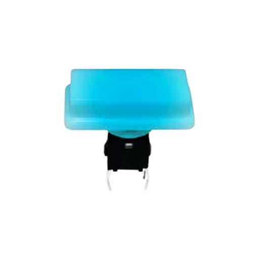 push button switch with full led illumination, pcb terminals, tactile feel, rjs electronics ltd