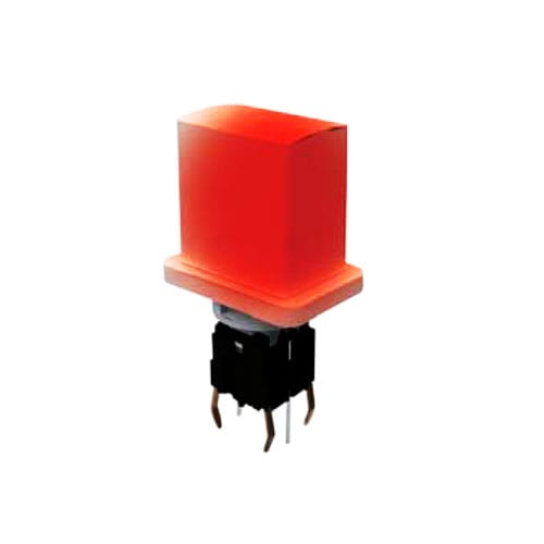 push button pcb switch with led illumination. Rjs electronics