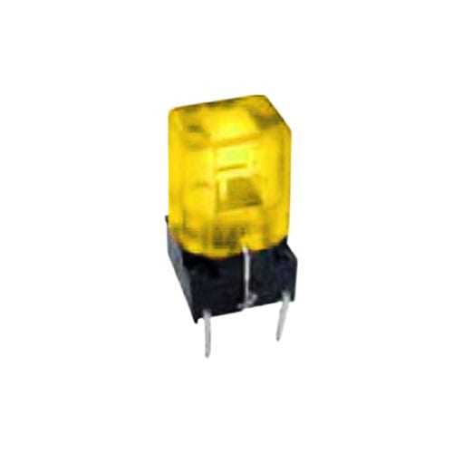 TC018 LED PUSH BUTTON TACT SWITCH WITH FULL LED ILLUMINATION, RJS ELECTRONICS