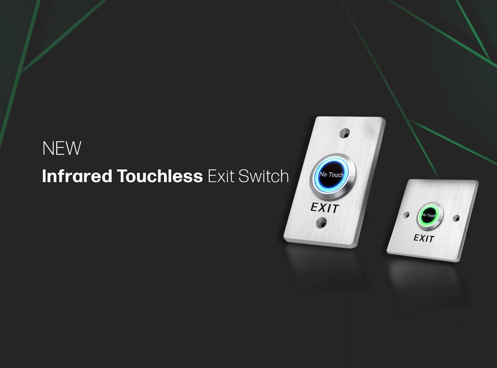 TLS - Title page, dual LED Illumination, ring LED illumination, touchless, no touch buttons, RJS Electronics Ltd.