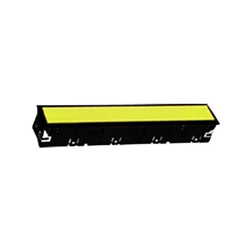 VL LED Indicator Panel, panel mount, full illumination, split-face LED illumination, plastic, rectangular, square, connector, screw type, RJS Electronics Ltd.