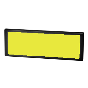 XL3 - Yellow - LED Indicator Panel - RJS ELECTRONICS LTD