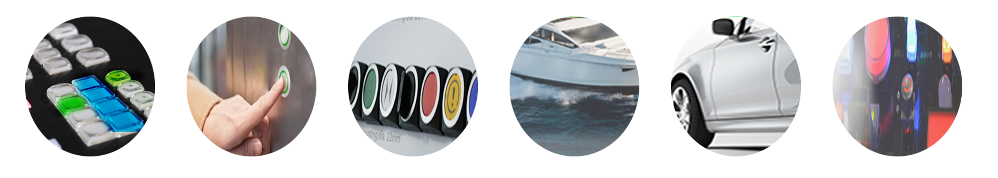 Applications RJS Electronics Ltd. Audio, Broadcasting, Video, Radio, MEdical, Automotive, Industrial Controls, Boat Building and Marine. RJS Electronics Ltd.