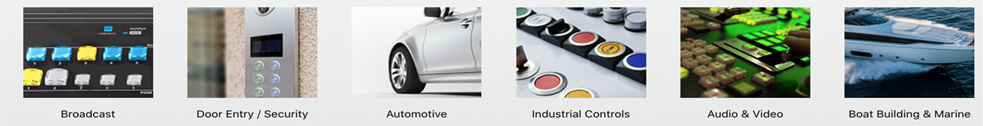 RJS Electronics Ltd, applications, broadcast, audio, media, mediacal, automotive, boat and marine, RJS Electronics Ltd
