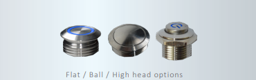 customisation (swt shape) - RJS Electronics - catalogue page 8 - high head, ball head, flat head, RJS Electronics Ltd.